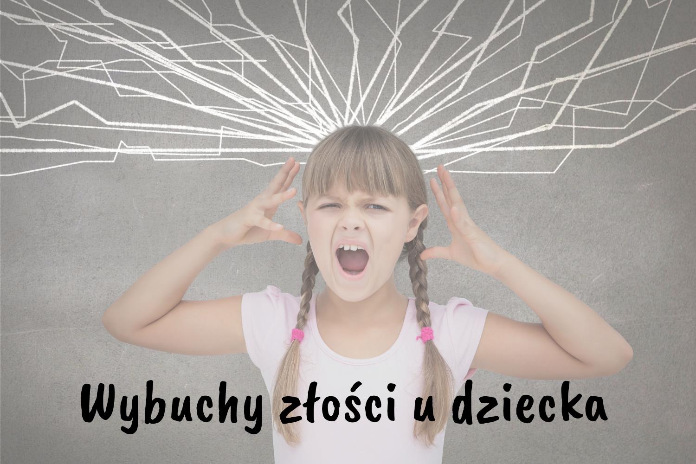 jak reagować na złość dziecka